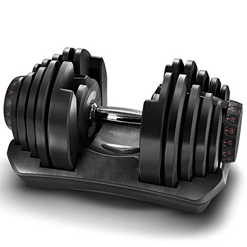 Dumbbells Adjustable Dumbbells Weight Set for Men and Women Dumbbell Hand Weight Barbell for Bodybuilding Fitness Weight Lifting Training Home Gym Equipment / 95LB/42.75KG