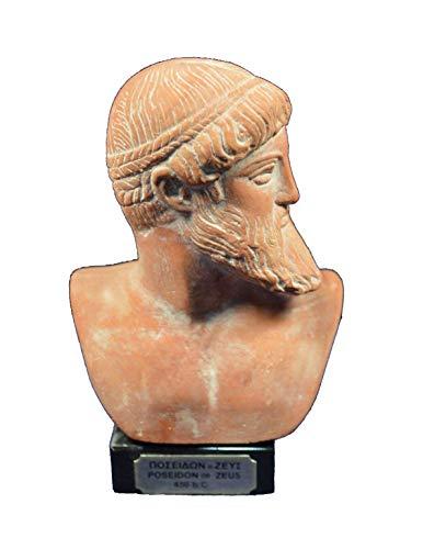 Estia Creations Zeus Poseidon Escultura