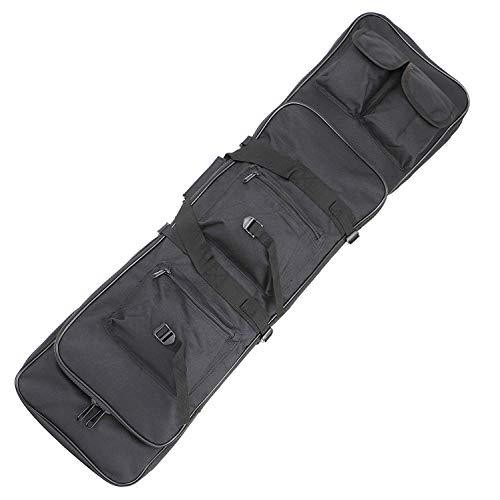 Sutekus 39 Inch Double Gun Bag Rifle Case Outdoor Tactical...