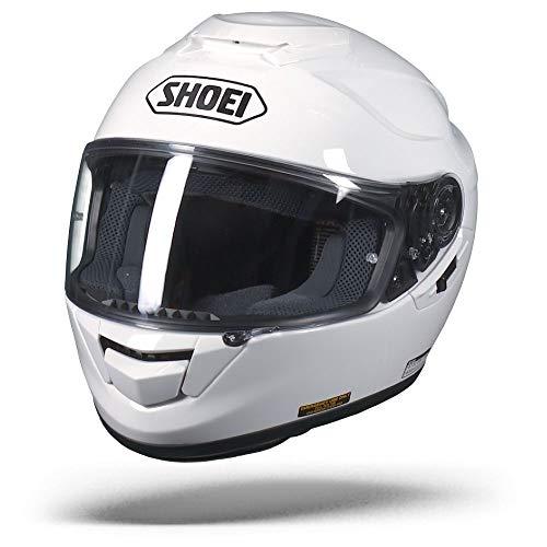 Shoei GT Air, Motorradhelm, Motorroller- und Touringhelm, Integralhelm, rot L Bianco