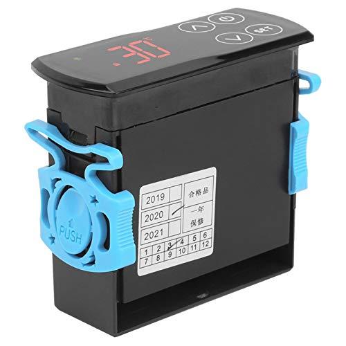 Controlador de temperatura Termostato Sistema de calefacción de refrigeración estable y confiable Controlador de temperatura Pantalla táctil para refrigerador
