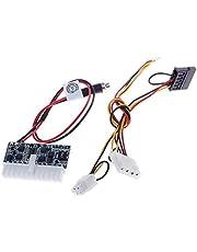 CALISTOUK Módulo de Potencia DC-ATX-160W 12V Pico Switch PSU Coche Auto ITX ATX Power Módulo 160W