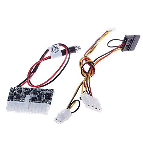 CALISTOUK Módulo de Potencia DC-ATX-160W 12V Pico Switch PSU Coche Auto ITX...