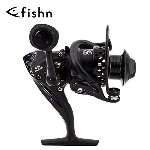 FISHN REEL500 Angel Spinnrolle 180gr ideal für Ultralight Ruten, Rolle zum Ultraleicht Angeln