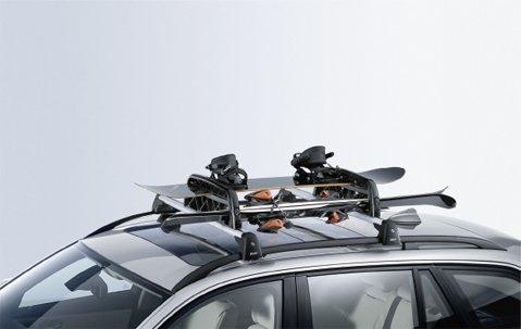 Original BMW Skihalter und Snowboardhalterung für BMW Grundträger