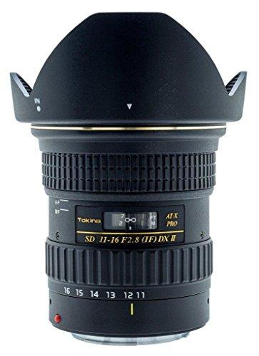 Tokina 11-16mm f/2.8 AT-X116 Pro DX II Digital Zoom Lens (AF-S Motor) (for Nikon)