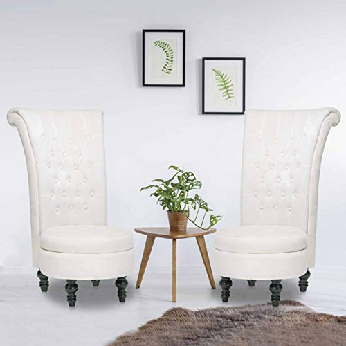 Paddie Vanity Chair Set of 2, Accent Chair Living Room Chair...