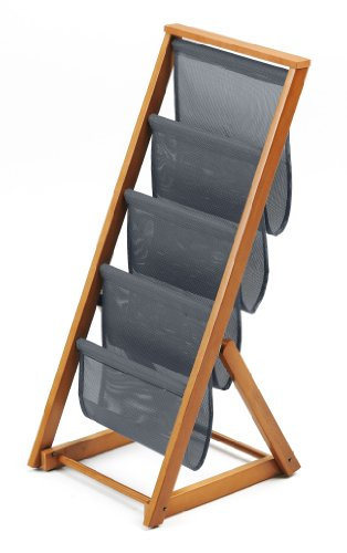 ARREDAMENTIITALIA Arredamenti Italia Zeitschriftenständer Matrix, Holz - Klappbar - Farbe: Kirsche Holz AR-It il Cuore del Legno