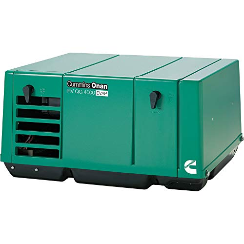 Cummins Onan Quiet Series Gasoline RV Generator - 4.0 kW, CARB and EPA Compliant, Model Number 4.0KY-FA/6747