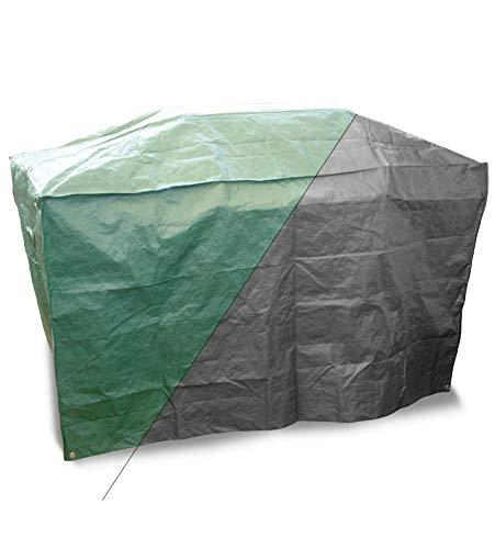 Bosmere Protector Plus+ P523 Housse de Protection réversible pour Barbecue Vert/Noir