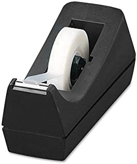 Sparco Tape Dispenser, Desktop, Holds 1/2-Inch-3/4 x 36 Yards, 1-Inch Core, BL (SPR64007)