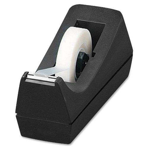 Sparco Tape Dispenser, Desktop, Holds 1/2-Inch-3/4 x 36 Yards, 1-Inch Core, BL (SPR64007)