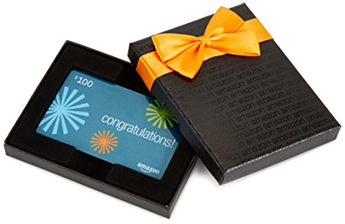 Amazon.com Gift Card in a Black Box