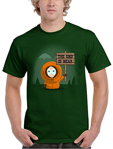 612-Camiseta The End Is Near (Ideas C. P.)