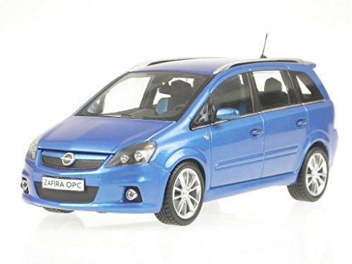 Opel Zafira OPC blau Modellauto Minichamps 1:43