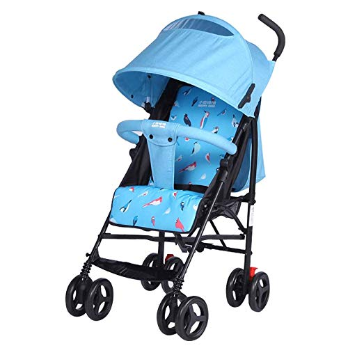 Lowest Prices! Strollers Can Sit Reclining Four Seasons General Lightweight Umbrella Stroller Easy t...
