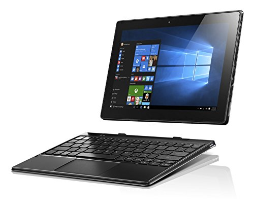 """Lenovo Ideapad MIIX 310 - Tablet Convertibile con Display da 10.1"""" IPS Multi-touch, Processore Intel Atom X5 Z8350, RAM 2 GB, 32 GB eMMC, S.O. Windows 10 Home, Grigio e Nero"""