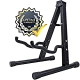GLEAM Guitar Stand - Fit Electric, Classical Guitars and Bass, Guitar Accessories, Folding Guitar Stand