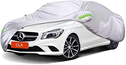 LY-Car cover Eine Dicke Autoschutzhülle Aus Oxford-Stoff, Die Mit Der Mercedes-Benz Cla-Serie Sowie Mit Sonnen- Und Regenschutzhüllen Für Den Innen- Und Außenbereich Kompatibel Ist (Cla200)