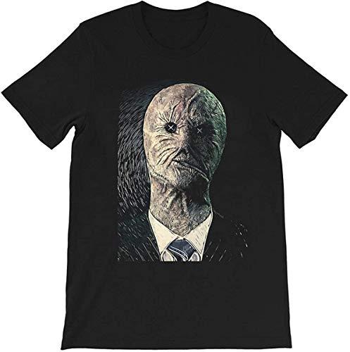 Dr. Decker Photo Dr Philip Portrait Art Dark Horror Movie Scary Halloween Graphics Gift Men's Women's Girls Unisex T-Shirt,Black,Small