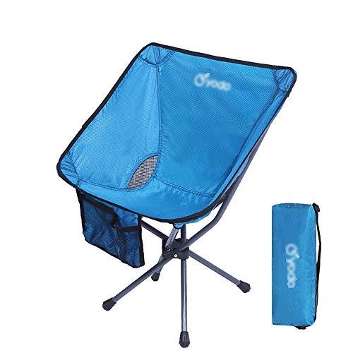 YXJBD Campingstoel, opvouwbaar, outdoor, klapstoel, draagbaar, achterrug, vissen, stoel, mazar kruk, strandstoel, camping, vrije tijd, kleine maanstoel, klapstoel