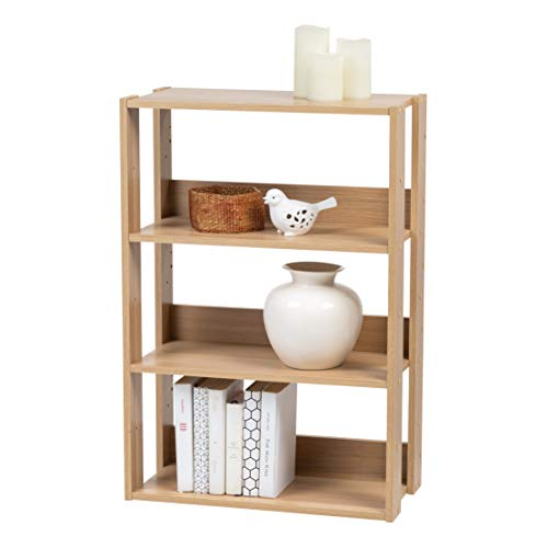 Natural Wood Shelving Units