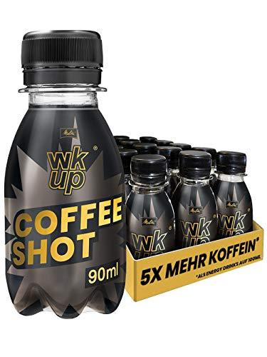 MELITTA WKUP Coffee Shot 15 Flaschen je 90 ml | Kaffee Kaltgetränk