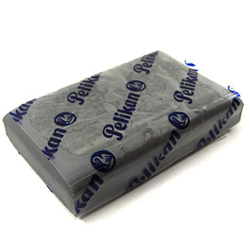 Pelikan Borracha Limpa Tipo, Cinza, Pacote de 1