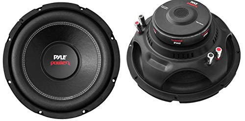 """Pyle PLPW10D 10"""" 2000W Car Subwoofer Audio Power Subs Woofers DVC 2 Pack with Black Steel Basket, Non Press Paper Cone and 4 Ohm Impedance"""