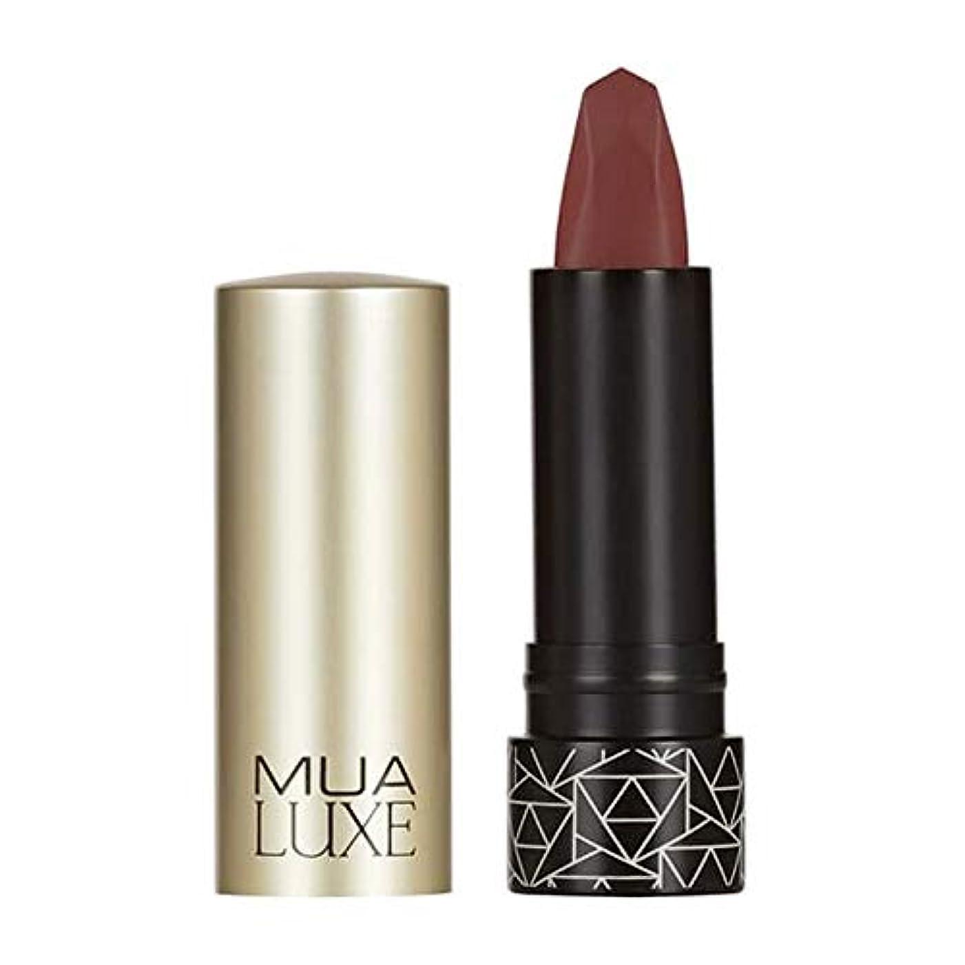 船上どこかフォーマル[MUA] Muaラックスベルベットマットリップスティック#3 - MUA Luxe Velvet Matte Lipstick #3 [並行輸入品]