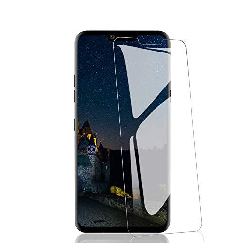 RIIMUHIR 3 Pièces de Verre Trempé pour LG G8, Protection Écran Dureté 9H, Anti-Rayures, HD Transparent, Ultra-Clarté, Haute Sensibilité