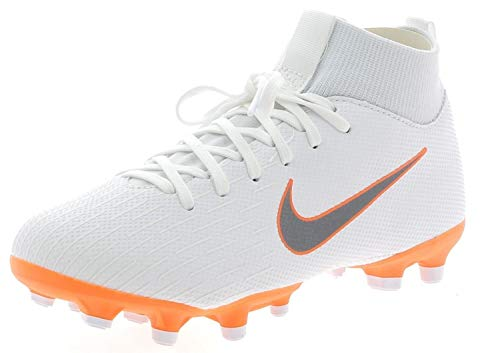 Nike Unisex-Erwachsene Mercurial Superfly 6 Academy MG JR AH733 Fußballschuhe Mehrfarbig (Indigo 001) ,38 EU