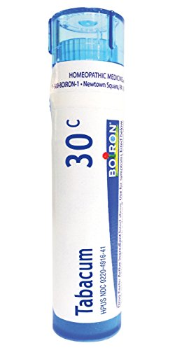 Boiron Tabacum 30C (Pack of 5), Homeopathic Medicine for Motion Sickness