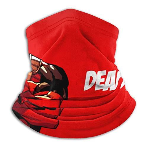 Deadpool - Pasamontañas de forro polar para esquí y invierno, para hombre y mujer, bufanda de invierno, para invierno, para esquí, moto