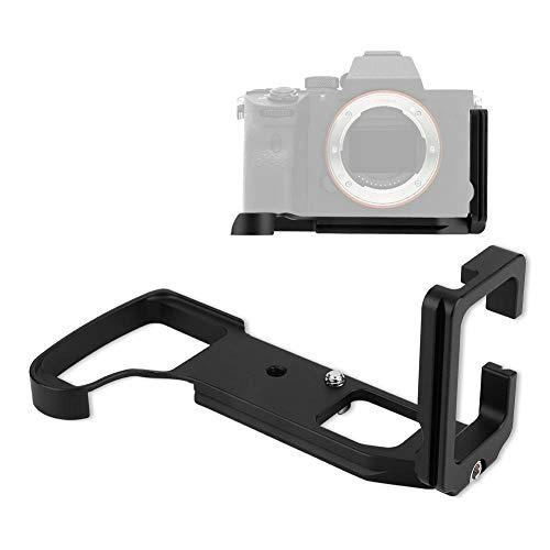 Topiky Kamera-Handgriff, Metall-Schnellwechselhalterung für vertikale Handgriffe mit L-Platte, 39 mm AS-Interface, für Sony RX10III/M3 RX10IV/M 4-Kamera