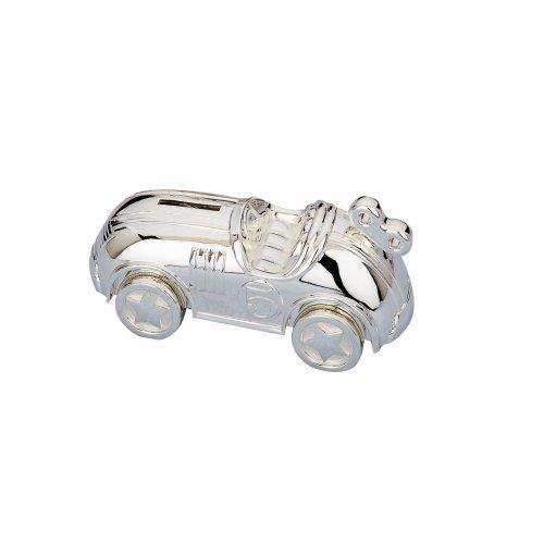 Reed & Barton Race Car Silverplate Bank, 2.25 LB, Metallic