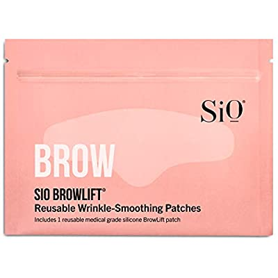 SiO Beauty Forehead Anti-Wrinkle Patch - Rapid Overnight Reusable Silicone Patch To Reduce Furrows, Expression Lines, And Creases BrowLift from SiO Beauty