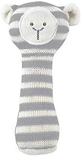 Santa Barbara Design Studio Knit Rattle - Cream Lamb (Pack of 2)