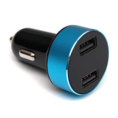 LICHONGUI Adaptador de Cargador rápido Dual USB de Coche Universal Pantalla LED para teléfono