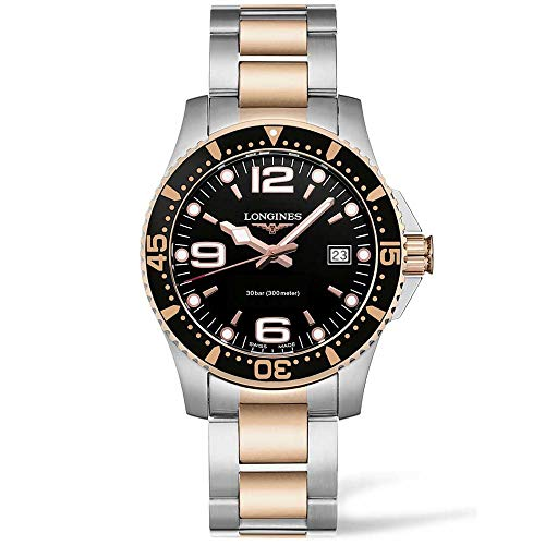 Longines HYDROCONQUEST 41MM Stainless Steel/PVD Diving Watch L37403587