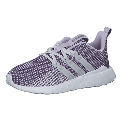 adidas Unisex Kinder Questar Flow K Laufschuhe Kids, Lila (Tech Purple/Dash Grey/Purple Tint), 34 EU