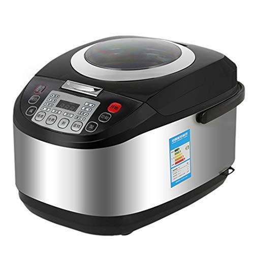 5L met grote capaciteit rijstkoker Intelligent Multi-Function rijstkoker, Afspraak getimede pan met antiaanbaklaag, RVS Stick pan kan warm te houden