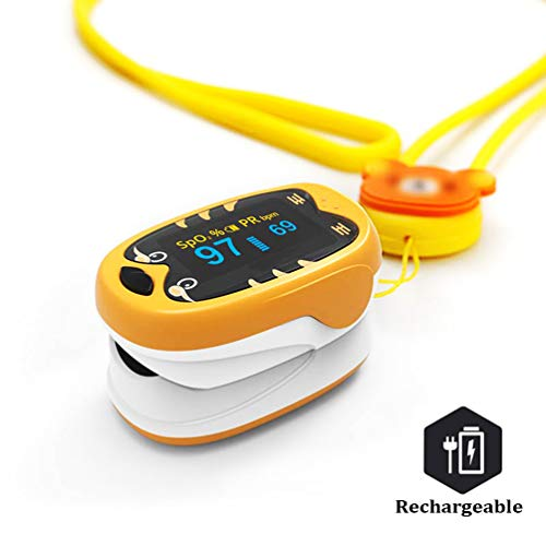 Automatic 3in1 Baby and Kids Rechargeable Blood Saturation with Digital LED Display for 112 Years Old