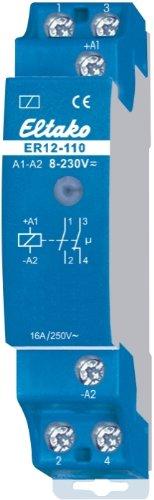Eltako 2048472 ELTA ER12-110-UC 8.230V UC 1S 1OE elektronisches Schaltrelais
