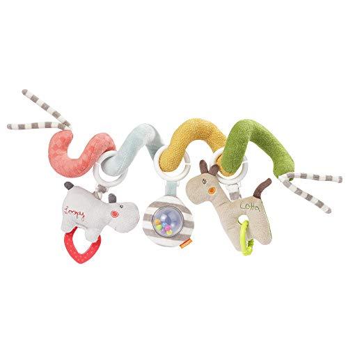 Fehn 059038 - Spirale di attività Loopy & Lotta – Divertimento per sentirsi e afferrare – per neonati e bambini a partire da 0 + mesi – Lunghezza: 30 cm