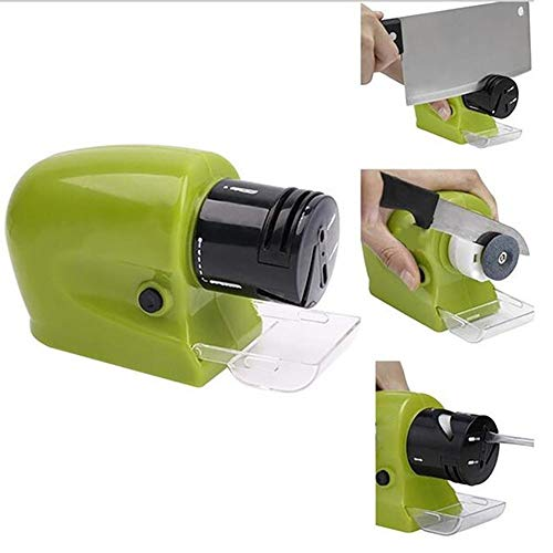 Xiongqi Electric Knife Sharpener, Electric Knife and Tool sharpeners Best Detachable Receiving Slot/Easy to Operate for Sharpening Kitchen Knives/Scissors