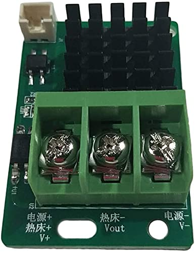 Good Stability Printer Accessories Heat Bed M-osfet Module 3D Printer Hotbed for CR10 CR10S Replace Damaged