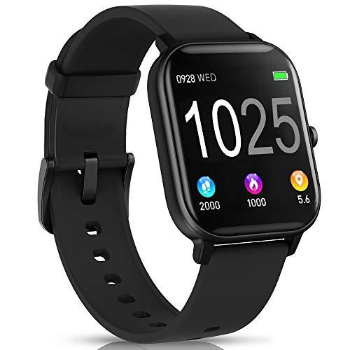 AIMIUVEI Smartwatch, Reloj Inteligente IP67 con Pulsómetro, Presión Arterial, 7 Modos de Deportes, Monitor de Sueño Caloría 1.4 Inch Pantalla TáctilSmartwatch para...