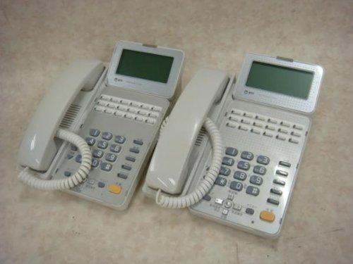 日本電信電話 GX-(18)STEL-(2)(W)2台セット NTT αGX 18ボタン標準スター電話機 ビジネスフォン