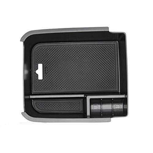 Centro de coche consola central reposabrazos caja de almacenamiento bandeja paleta contenedor con goma Mat Fit para VW Touran 2016 2017 2018
